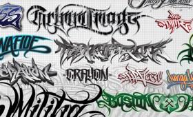 Custom Lettering – Vector artwork for logos, clothing, tattoos & more…