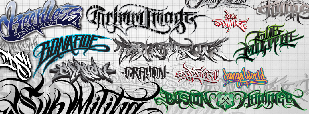 Custom Lettering – Vector artwork for logos, clothing, tattoos & more…